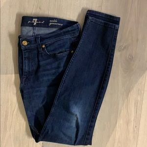 7 for all mankind ankle gwenevere size 29.